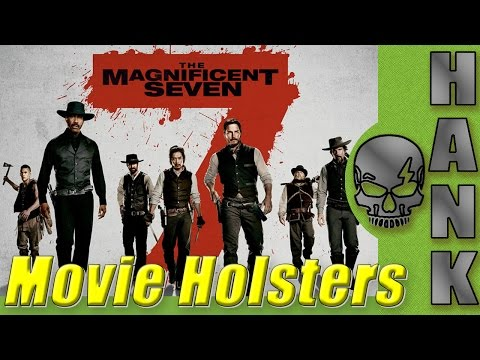 Movie Holsters // The Magnificent Seven // Custom Leather Western Rigs
