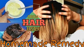 How To Grow Hair Faster | Homemade Remedy For Long and Smooth Hair |