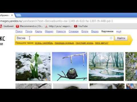 Как копировать картинки из интернета