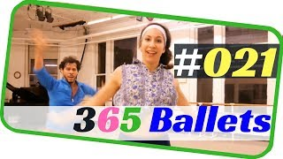 Amazing ballet dance duet - 365 ballets. nyc ballet. ballet 021