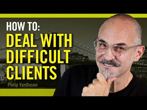 How To Deal With Difficult Clients - for creative professionals