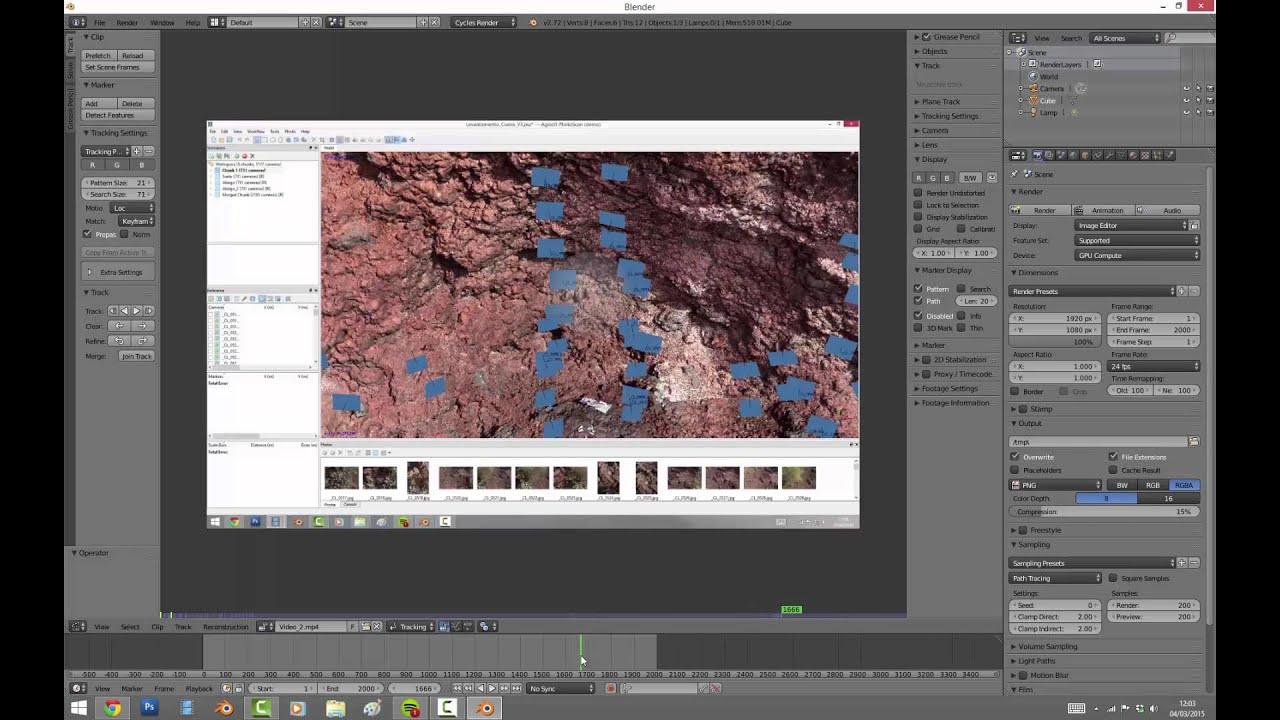 Extraer fotogramas de un vídeo en Blender (2.72) - YouTube