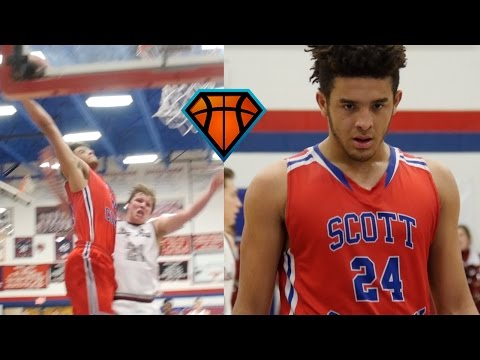 Michael Moreno POSTERIZES Defender at The Music City Classic!! | 2019 Prospect From Kentucky