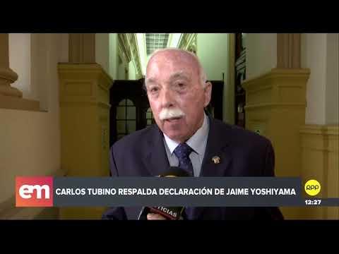 Tubino: Jaime Yoshiyama es una persona de ascendencia japonesa y lógicamente cumple su palabra