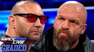 Video WWE SmackDown Live 1000: GRADED (16 October) | BATISTA Vs. TRIPLE H?! download MP3, 3GP, MP4, WEBM, AVI, FLV Oktober 2018