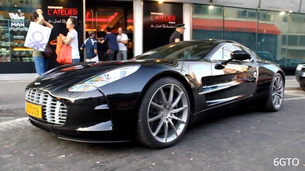 Samuel Eto'o Aston Martin One-77 - LOUD Start up & FAIL ! - YouTube