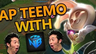AP TEEMO TOP WITH NIGHTBLUE3 - League of Legends With Friends