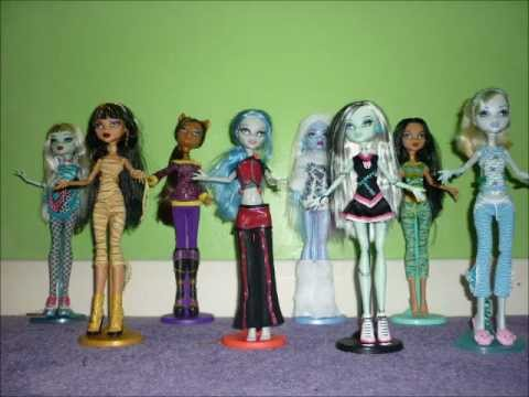 Monster High dolls dance to the Fright Song