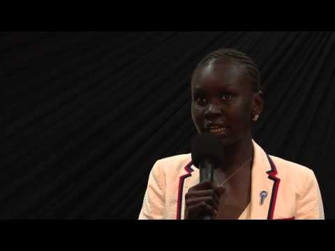 Education: The Key to South Sudan's Success: Alek Wek at TEDxJuba