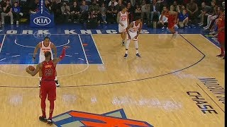 LeBron James Fools The Entire Knicks Team With Pass To Jordan Clarkson! Cavaliers vs Knicks