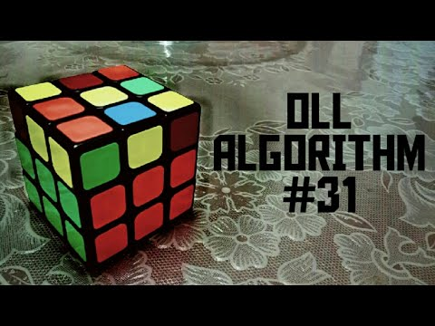 OLL Algorithm#31