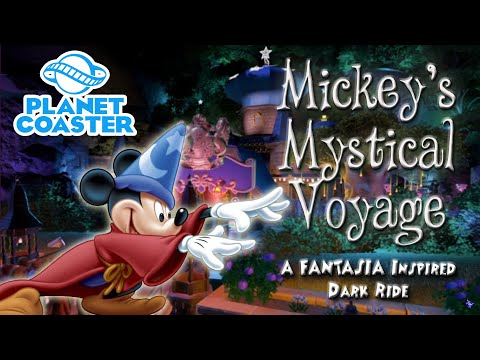Mickey's Mystical Voyage- My First Planet Coaster Ride! |