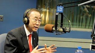 رسالة الأمين العام للأمم المتحدة بان كي مون بمناسبة اليوم العالمي للإذاعة