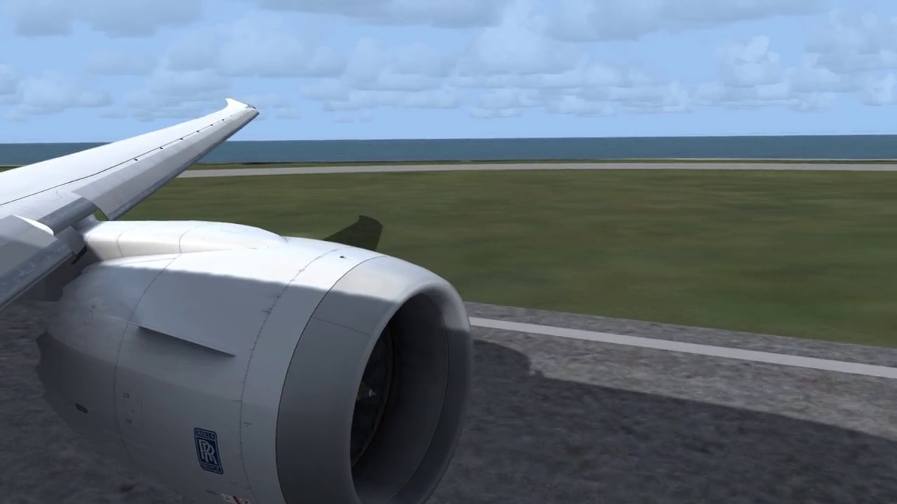QualityWings 787  Ultimate 787 Soundcheck ( Trent 1000 )