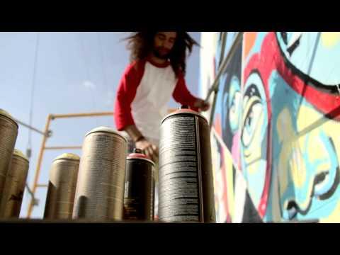 Arte Urbana na sede da Chilli Beans em Los Angeles