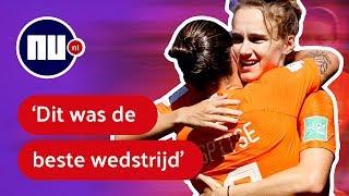 Nabeschouwing: 'Hoe heter het werd, hoe beter Oranjevrouwen speelden' | NU.nl