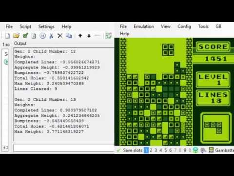 Tetris Genetic Learning (2 Hours)