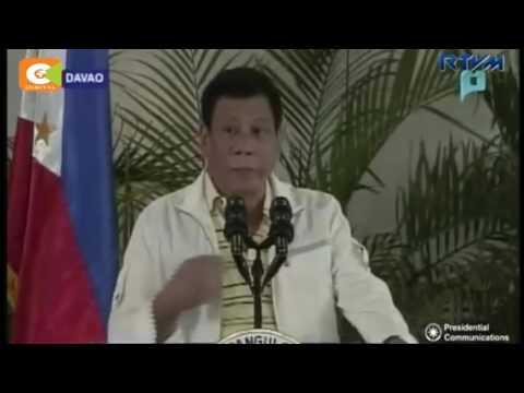 Philippines President Rodrigo Duterte insults Barrack Obama