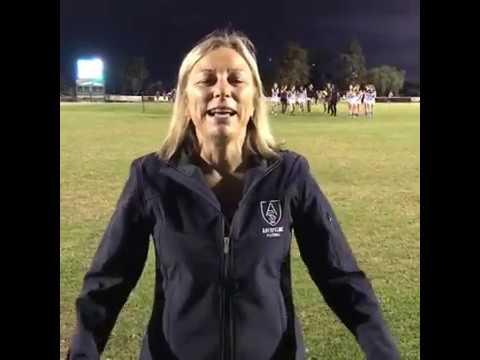 Aberfeldie Senior Women's Team First Game