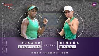 Simona Halep vs. Sloane Stephens | 2018 Rogers Cup Final Preview