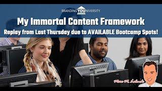 💀 My Immortal Content Framework!