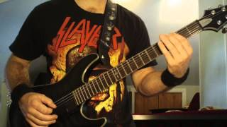Slayer Born of Fire Guitar Lesson