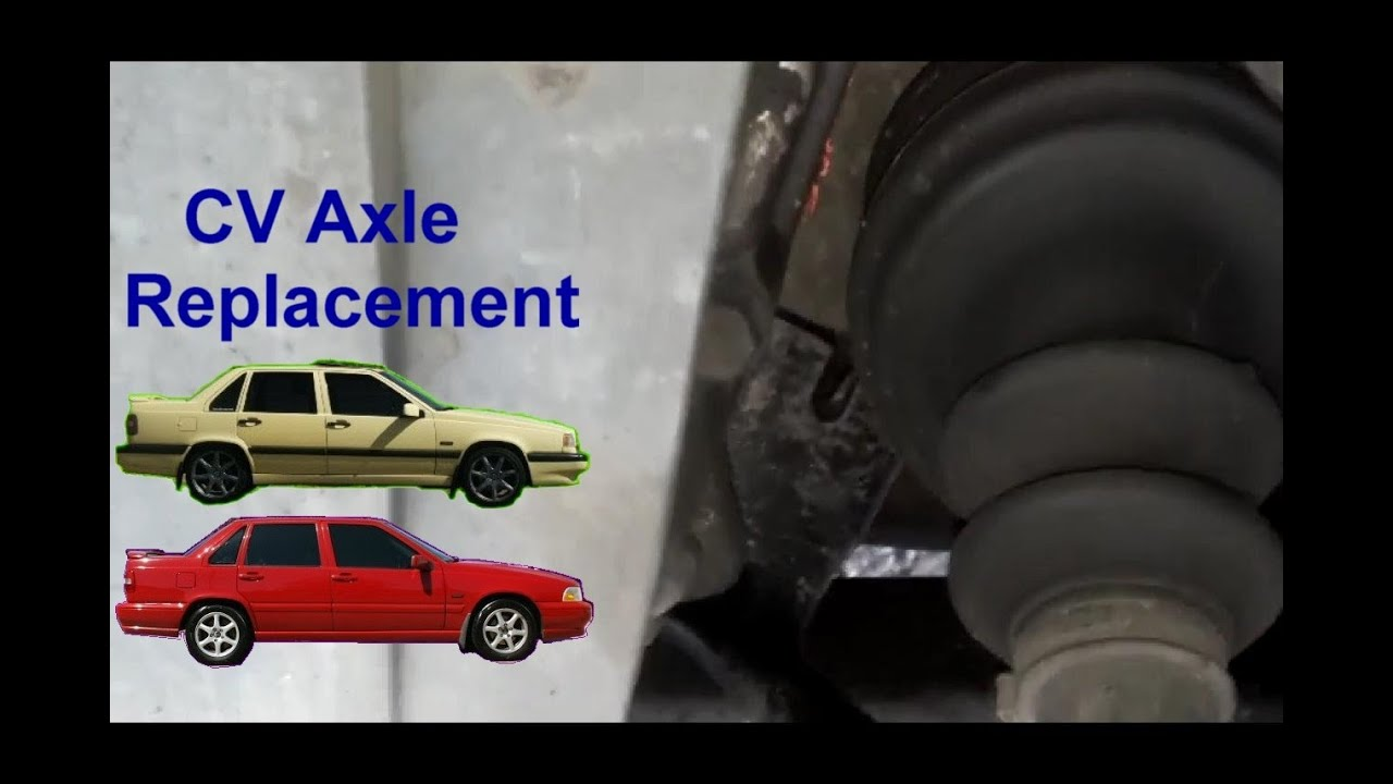 How to replace the front CV axle, drivers side Volvo 850 ...