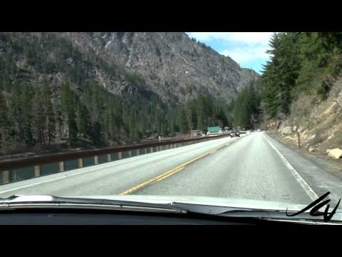 Leavenworth, Washington to Stevens Pass - April 8, 2013 - YouTube