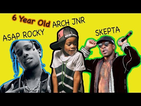 Asap Rocky Ft. Skepta - Praise The Lord (Beat Creation By 6 Year Old Arch Jnr)