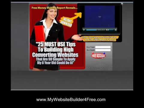 How to Make Your Own Website!! FREE Software!! My Six Year Old Can Do It!!