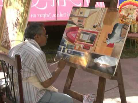 Jaipur Art Festival Movie