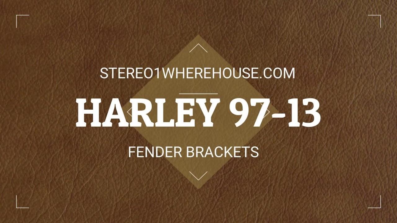 Harley fender bracket