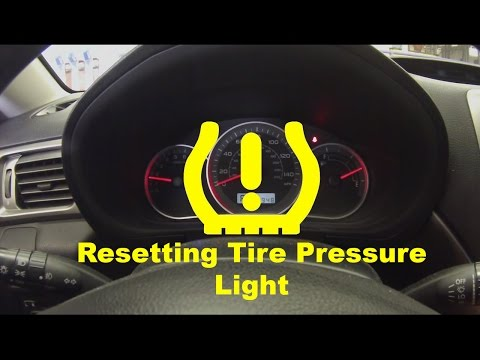 Resetting Low Tire Pressure Light