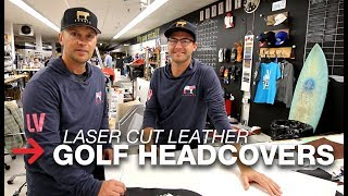 Laser Cutting Leather | Leather Golf Headcovers | Speedy 300