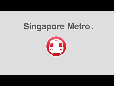 Singapore Metro on Android - Mapway