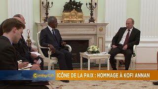 Peace icon:a tribute to Kofi Annan [The Morning Call]