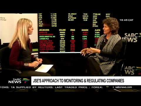 JSEs approach to monitoring & regulating companies: Nicky Newton-King