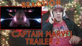 MARVEL STUDIOS' CAPTAIN MARVEL- Trailer 2 REACTION