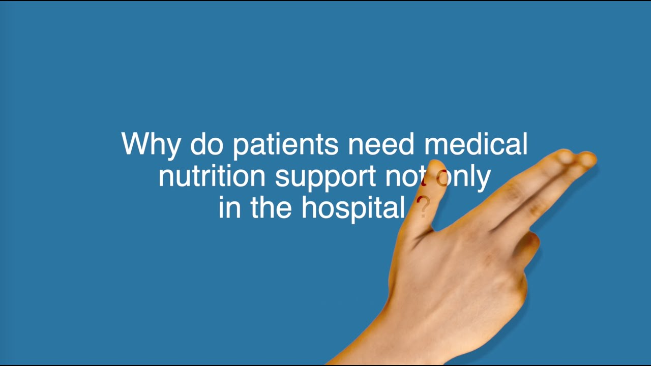 Why do patients need medical nutrition support not only in the hospital? Pr. Rocco Barazzoni replies