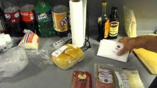 Homemade Italian Herb Bread Hoagie
