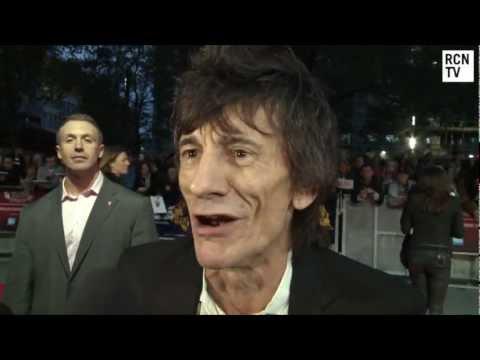 Rolling Stones Ronnie Wood   Crossfire Hurricane World Premiere