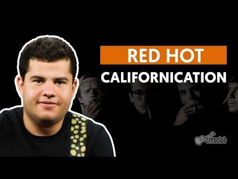 Californication - Red Hot Chili Peppers (aula de guitarra)