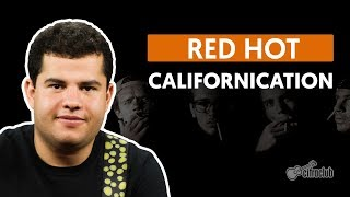 Californication - Red Hot Chili Peppers (aula De Guitarra)