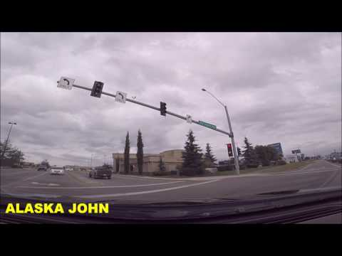 ALASKA DRIVING - Walmart/Costco/Errands  - July 24th 2017