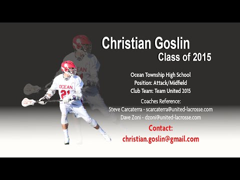 Christian Goslin 2015 Highlight Film