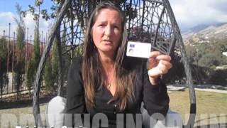 Driving in Spain: Driving Licences & UK Reg Cars