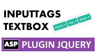 Plugin jQuery- Bootstrap tags, convertir un textbox a grupo de tags con asp y html