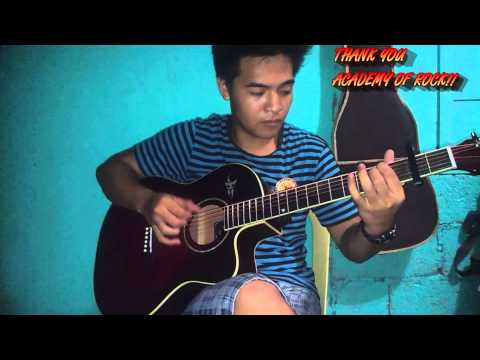 Yeng constantino - Pangarap lang  - ACADEMY OF ROCK - acoustic Fingerstyle cover