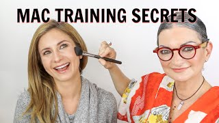 MAC Training Secrets Reveled Part 4 | My Old MAC Boss Does My Makeup