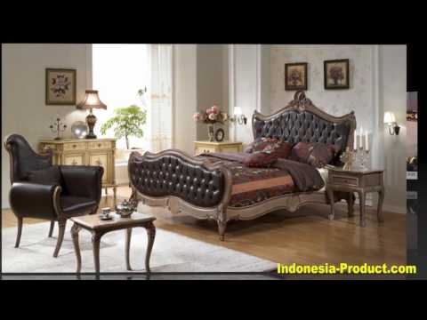 French Antique Reproduction Mahogany Furniture From Jepara
